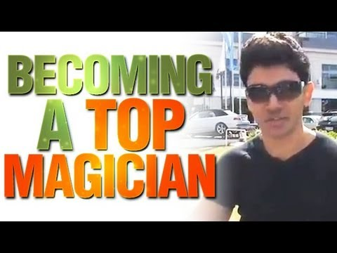 Free Magic Live Tips:  Becoming A Top Magician