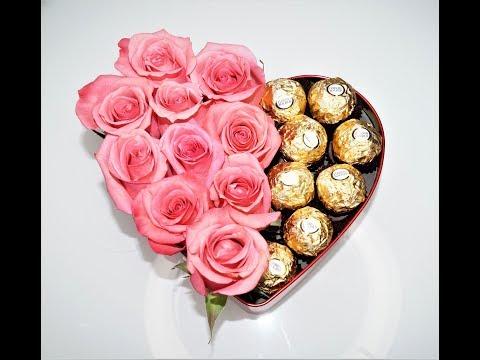 DIY valentine ideas tutorial - DIY roses and chocolate box - Sugarella Sweets Party