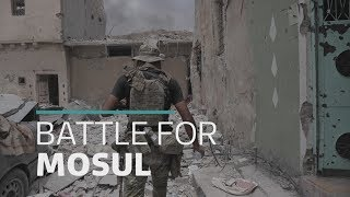 Final days of frontline battle against IS in Mosul