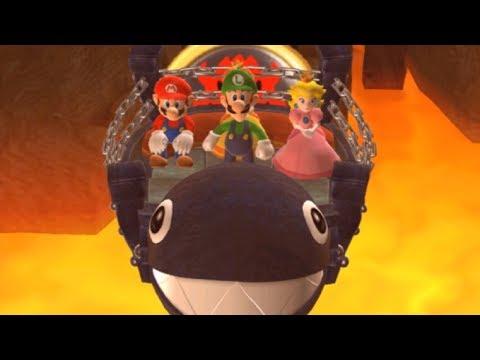 Mario Party 9 - Magma Mine (Luigi Gameplay/Hard Difficulty)