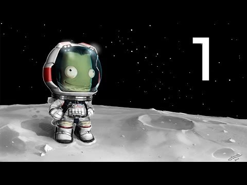 Kerbal Space Program Let's Play Part 1 - A Simple Ship