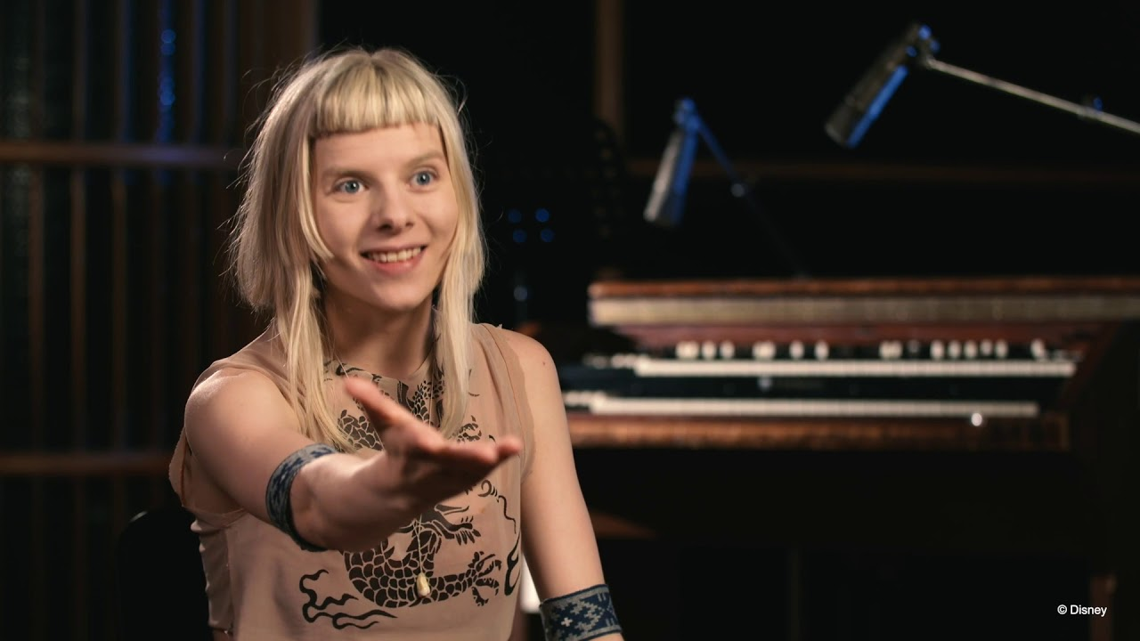"""AURORA - Frozen 2 - """"INTO THE UNKNOWN"""" (Behind The Scenes Recording)"""