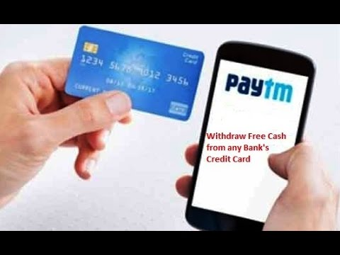 Credit Card Trick to withdraw Free Cash by Paytm
