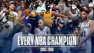 Every NBA Champion Since the 2000 Season