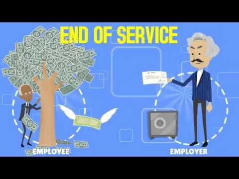 End of Service Gratuity explained - Employment Law Animation