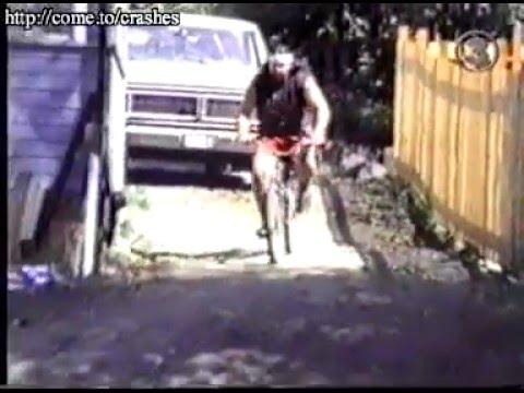 Big Jump on bicycle