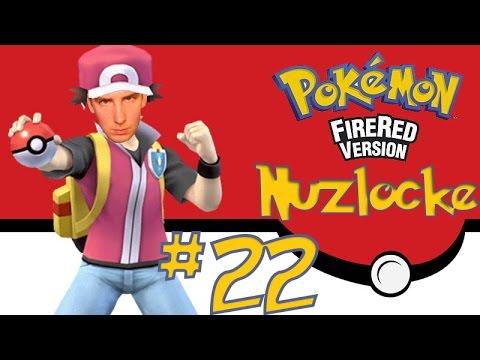Pokemon FireRed Nuzlocke Challenge #22: Donatello vs Blaine