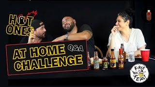 Download Hot Ones Challenge HILARIOUS Q&A Video