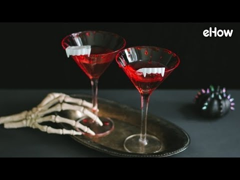 How to Make Bloody Vampire Cocktails