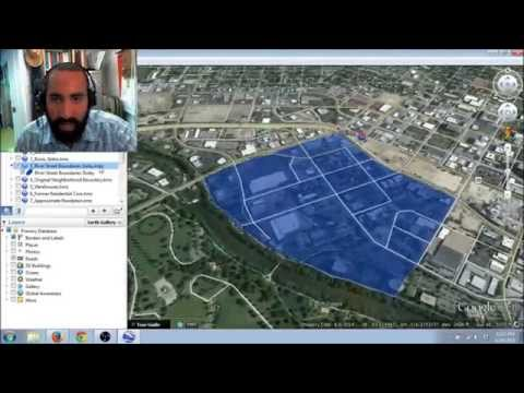 How to identify historical properties using Google Earth