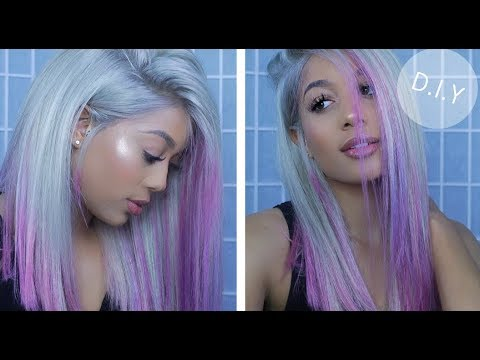 HOW TO: EASILY Dye 613 Blonde To PINK UNICORN Hair! How To Dye Your Hair Ombre Pink For Beginners