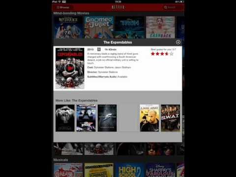 Netflix US Version on all international Netflix accounts for Ipad and Ipad2 using VPN