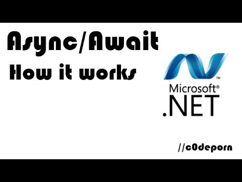 Async/Await in C# - How it works and how to use it