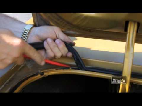 How to remove and replace trunk auto weatherstripping