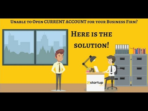 How to open current Bank account in the name of sole proprietorship business firm?