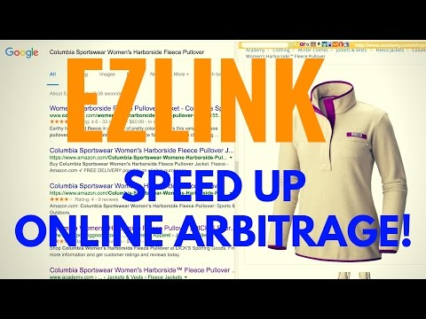 Speed up Online Arbitrage with the Chrome Extension EZ Link Preview