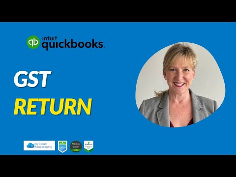 QuickBooks GST return