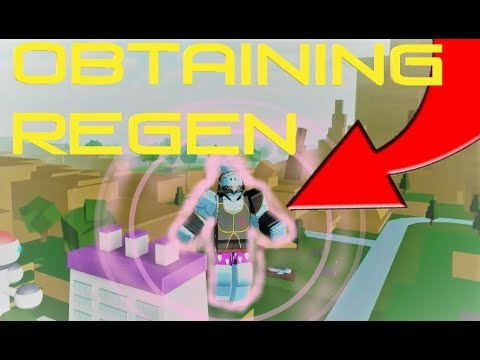 OBTAINING REGEN!! | Roblox: Dragon Ball Z Final Stand