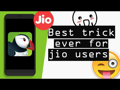 Best trick ever for jio users How to increase Reliance Jio Speed☺ [Browsing & downloading]