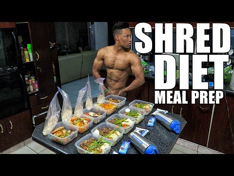 MY EXTREME FAT LOSS  MEAL PREP DIET - Full Day OF Eating - Meal By Meal