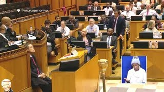 DRAMA - John Steenhuisen Ordered Out Of Parliament