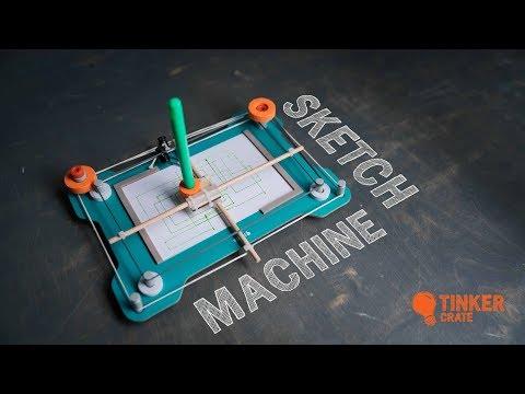 Make a Sketch Machine - Tinker Crate Project