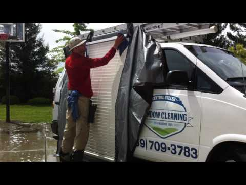 Blind cleaning the smarter faster way.