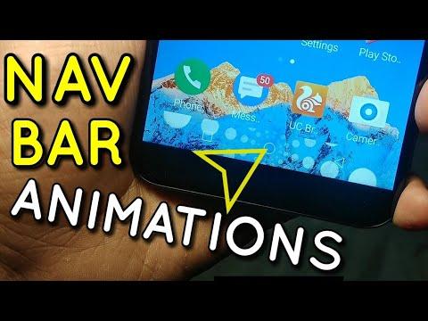 Navigation Bar Animations Tutorial on Any Android Phone | Hindi - हिंदी