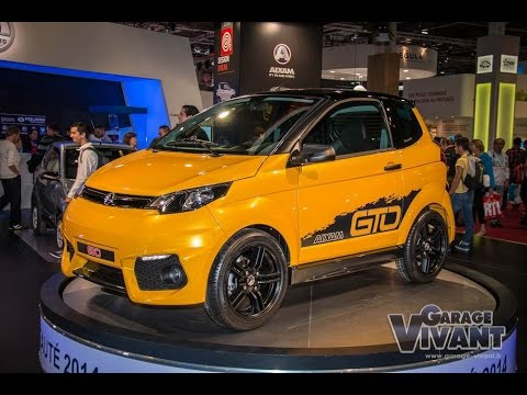 Aixam City GTO 2014 - Mondial de l'Automobile