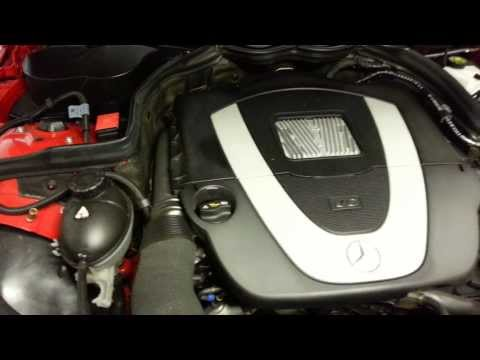 Mercedes C class coolant level how to check W204