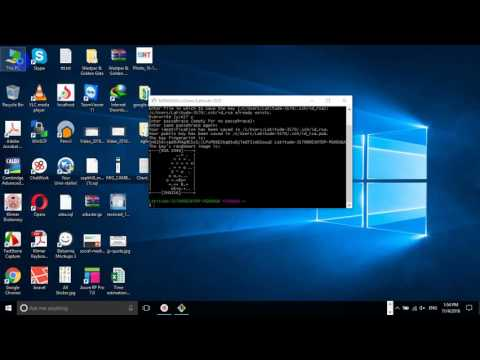 how to generate ssh key on windows by using git bash