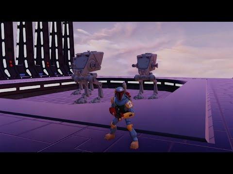 Disney Infinity 3.0 - How To Create A Death Star Hangar Lift