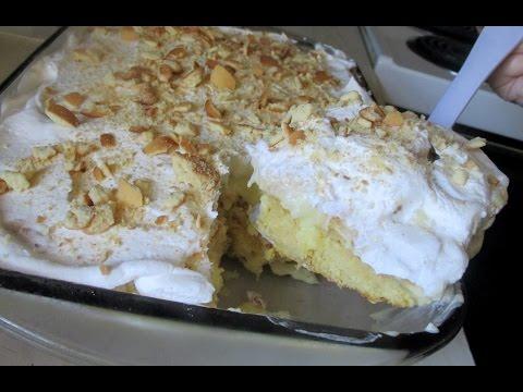 InTheKitchen: Banana Pudding Cake