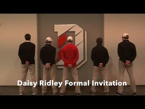 Daisy Ridley Formal Invitation