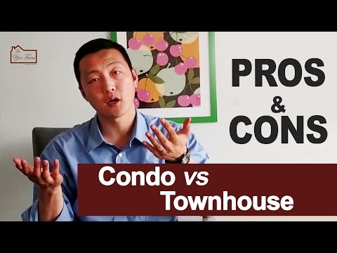 Condo & Townhouse Pros & Cons
