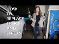 HOW TO REPLACE WORN OUT SHOCKS AND STRUTS - CAR, TRUCK or SUV