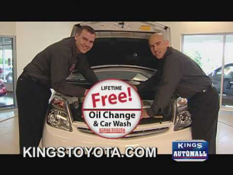 It's Outrageous! 2 Kings Island Gold Passes and Free Oil & Filter changes for life when you buy a new or used Toyota from Kings Toyota by May 31st!