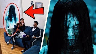 SCARY HALLOWEEN GHOST PRANK! 🎃👻