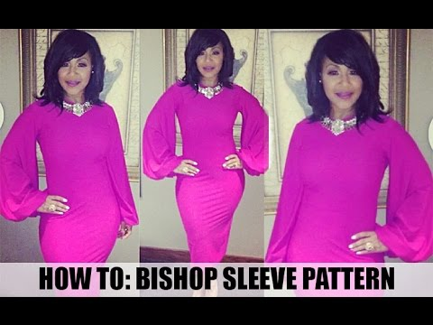 How to: Bishop Sleeve Pattern