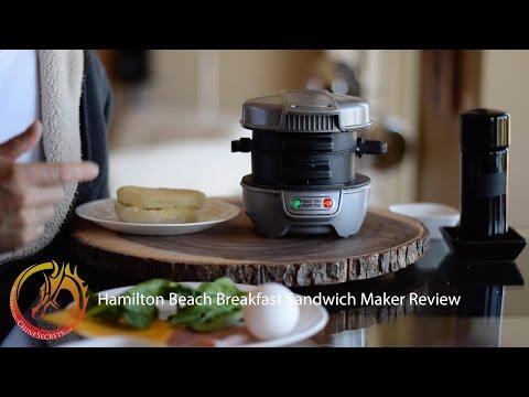 Hamilton Beach Sandwich Maker Review: Easy, Fast & Healthy Breakfast