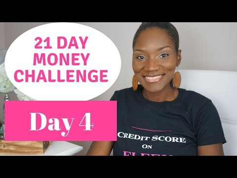 21 Day Money Challenge   Day 4   If You're in a Hole Stop Digging!   New Year, New Money