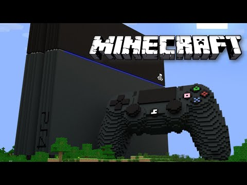 MINECRAFT TIMELAPSE PS4! : Best Minecraft PS4 build 2014  (HD)