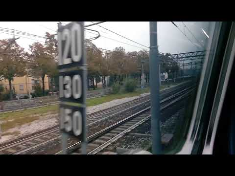 Arrival at Venice Mestre by train