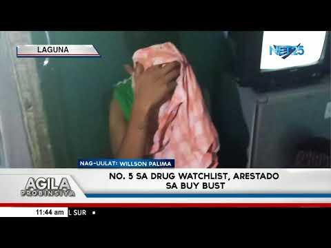 No. 5 sa drug watchlist, arestado sa buy-bust operation sa Biñan City, Laguna