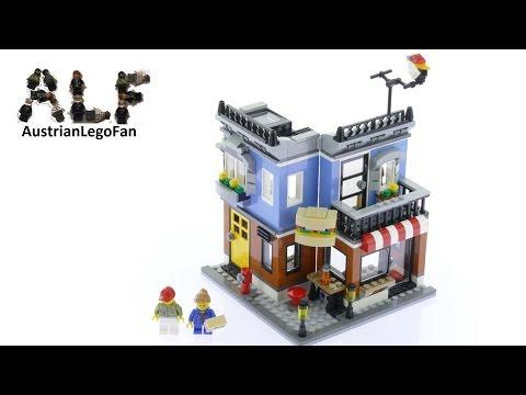 Lego Creator 31050 Corner Deli Model 1of3 - Lego Speed Build Review