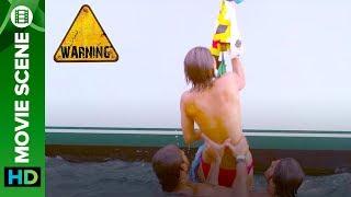 Gunjan tries stunts | Warning