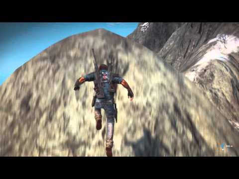 Just Cause 3 Exploring North West Volcano Island: Just Cause 3 Exploring North West Volcano Island