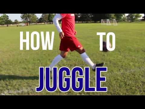 Fast way to learn how to juggle a Soccer  ball in 4 minutes
