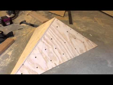 Build an Easy Volume for a Home Climbing Wall