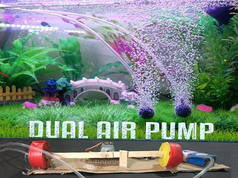easy make dual mini air pump at home